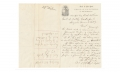 AUTOGRAPH LETTER SIGNED - S.K. ZOOK, COLONEL 57TH REGIMENT NEW YORK STATE VOLUNTEERS