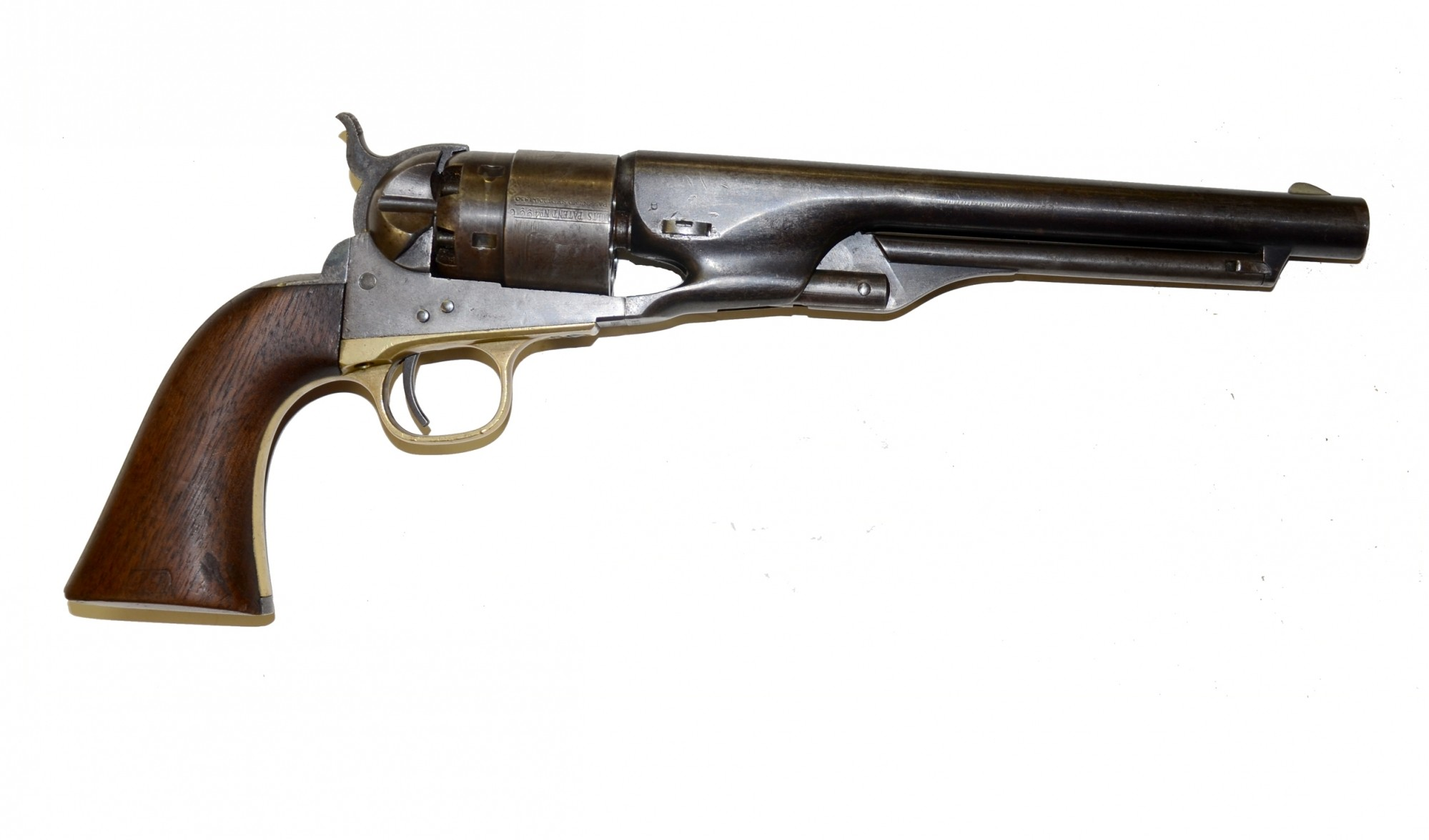 THREE-SCREW M1860 ARMY COLT REVOLVER