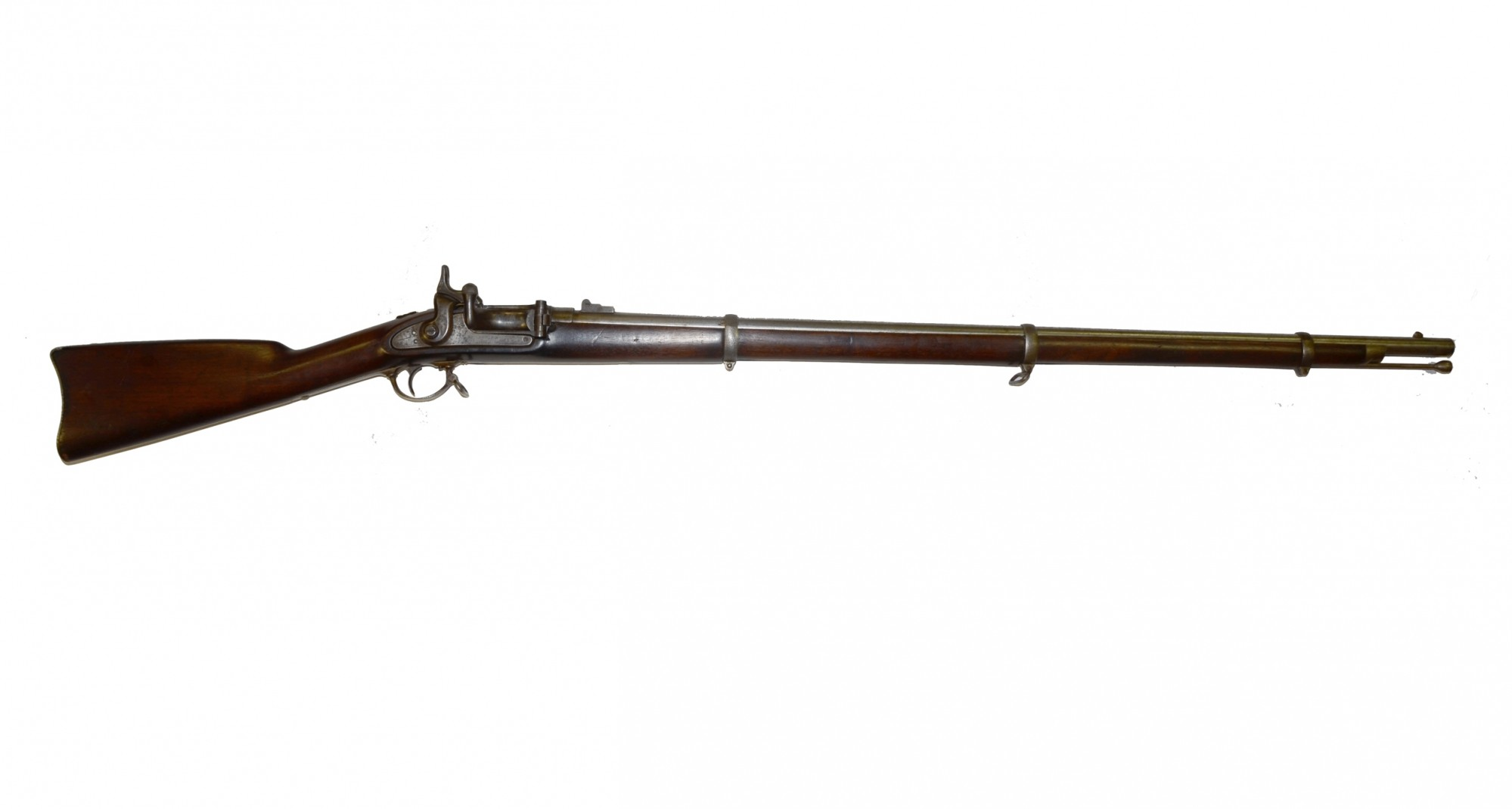 M1861 BRIDESBURG CONTRACT RIFLE-MUSKET WITH THE NEEDHAM CONVERSION TO A BREECHLOADING SYSTEM