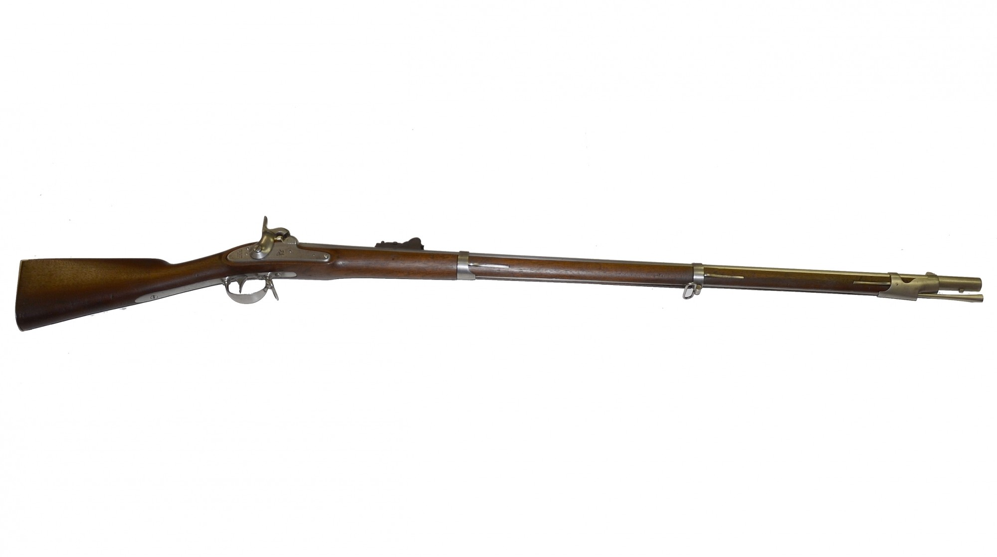 SPRINGFIELD M1842 PERCUSSION MUSKET DATED 1851