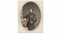 ALBUMEN PHOTOGRAPH OF EDWARD J. PHILLIPS, 91ST PENNSYLVANIA INFANTRY