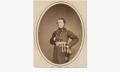 ALBUMEN PHOTOGRAPH OF EDGAR MANDELBERT GREGORY, 91ST PENNSYLVANIA INFANTRY
