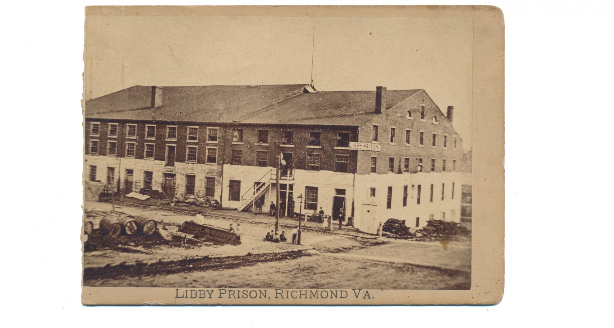 LIBBY PRISON CABINET CARD