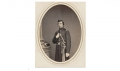 ALBUMEN PHOTOGRAPH OF CAPTAIN JOHN H. WEEKS, 91ST PENNSYLVANIA INFANTRY