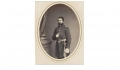 ALBUMEN PHOTOGRAPH OF CHARLES HENRY, 91ST PENNSYLVANIA INFANTRY