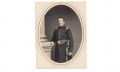 ALBUMEN PHOTOGRAPH OF CAPT. JAMES E. SULGER, 91ST PENNSYLVANIA INFANTRY