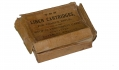 BOX FOR SHARPS RIFLE CARTRIDGES & ONE LINEN CARTRIDGE