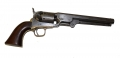 FOURTH MODEL COLT 1851 NAVY REVOLVER ID'D TO 17 PENNSYLVANIA CAVALRY OFFICER