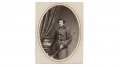 ALBUMEN PHOTOGRAPH OF UNIDENTIFIED 91ST PENNSYLVANIA INFANTRY OFFICER