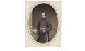 ALBUMEN PHOTOGRAPH OF FRANCIS H. GREGORY, 91ST PENNSYLVANIA INFANTRY