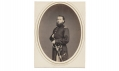 ALBUMEN PHOTOGRAPH OF JUSTUS A. GREGORY, 91ST PENNSYLVANIA INFANTRY