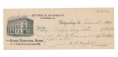 1914 GETTYSBURG ICE AND STORAGE CO. BANK CHECK