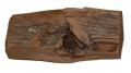BULLET IN WOOD FROM GETTYSBURG, DANNER MUSEUM COLLECTION
