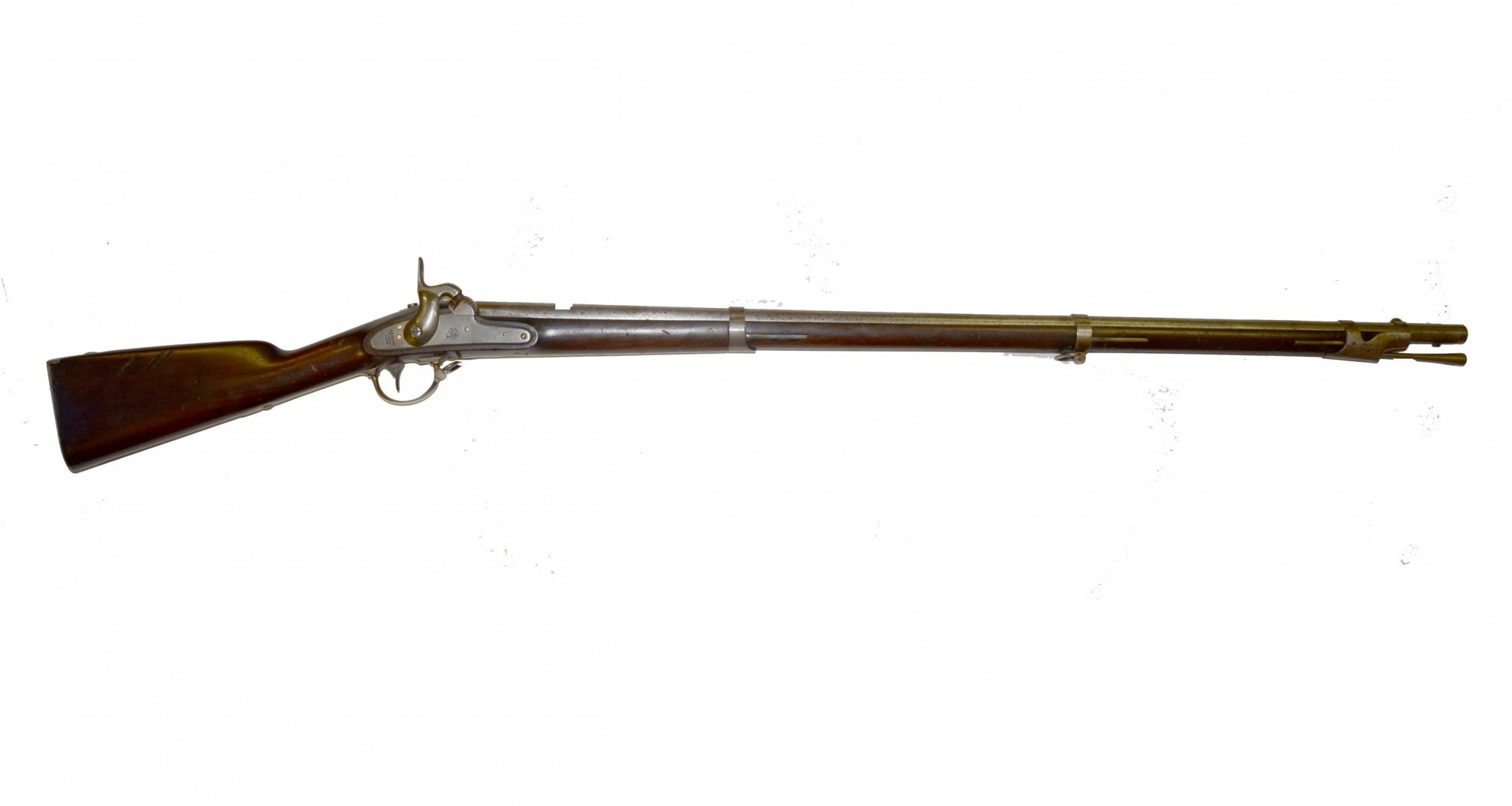 Model 1842 Springfield Smoothbore Musket Dated 1852
