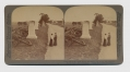 "UNDERWOOD & UNDERWOOD STEREOVIEW OF ""WALL WHERE TIDE TURNED WITH PICKETT'S BLOODY REPULSE"""