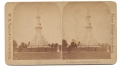TIPTON STEREOVIEW – SOLDIERS' NATIONAL MONUMENT, GETTYSBURG NATIONAL CEMETERY