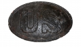 SHIPWRECK RECOVERED US BELT BUCKLE