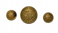 NEW YORK INDEPENDENCE GUARD BUTTONS