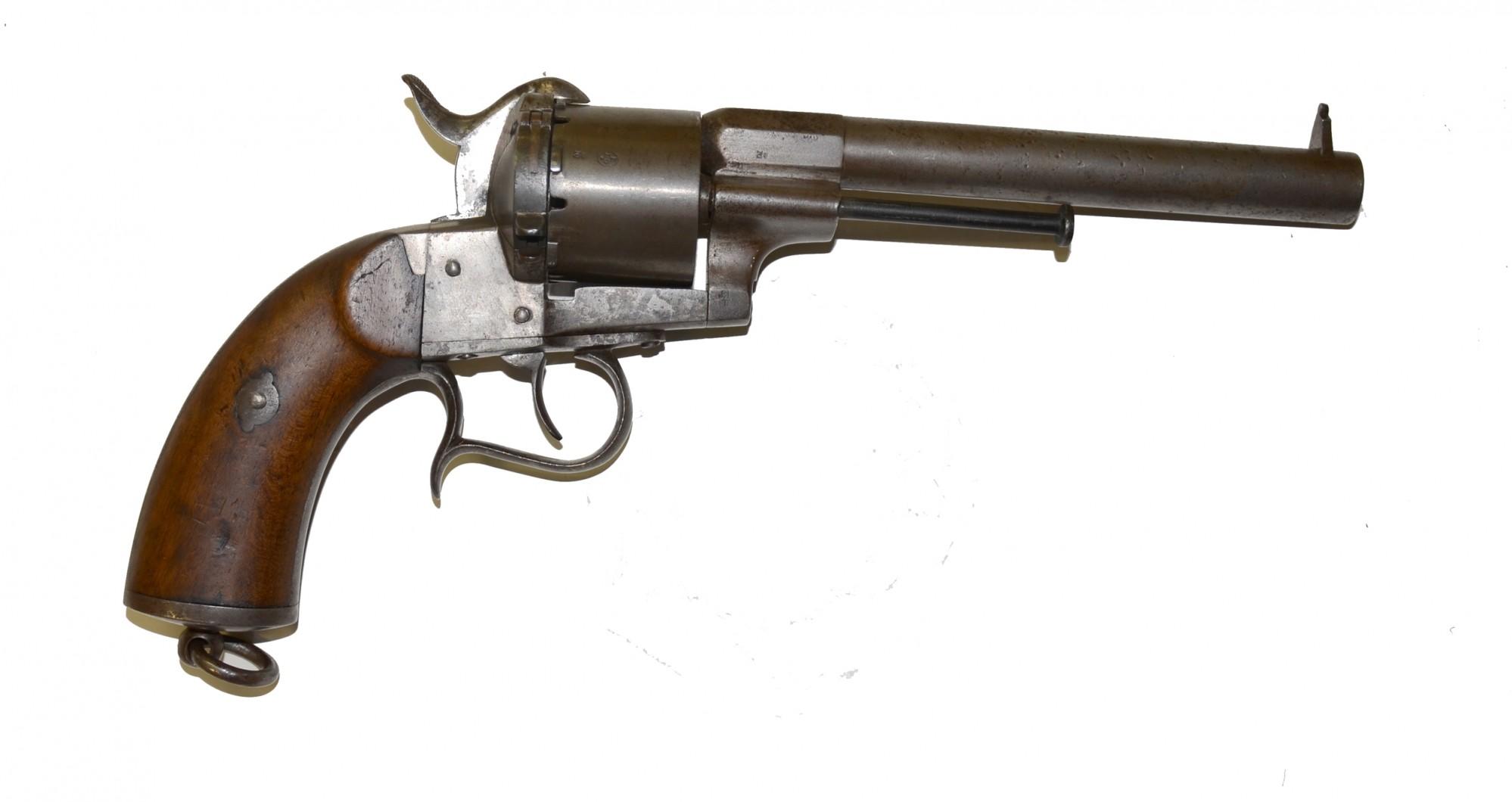 Lefaucheux 12mm Pinfire Revolver Horse Soldier