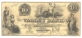 VALLEY BANK, HAGERSTOWN, MARYLAND, $10 NOTE