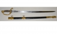 MODEL 1852 NAVAL OFFICER'S SWORD IDENTIFIED TO WILLIAM COLLINS