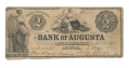 STATE OF GEORGIA BANK OF AUGUSTA $2 NOTE