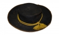 "PARTIALLY IDENTIFIED ""PORK PIE"" STYLE CAVALRY SLOUCH HAT"
