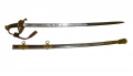 M1850 STAFF AND FIELD OFFICER'S SWORD ID'D TO 42ND MASSACHUSETTS OFFICER