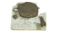 SOLDIER'S CHANGE PURSE & RELICS RECOVERED AT BLOODY LANE, ANTIETAM