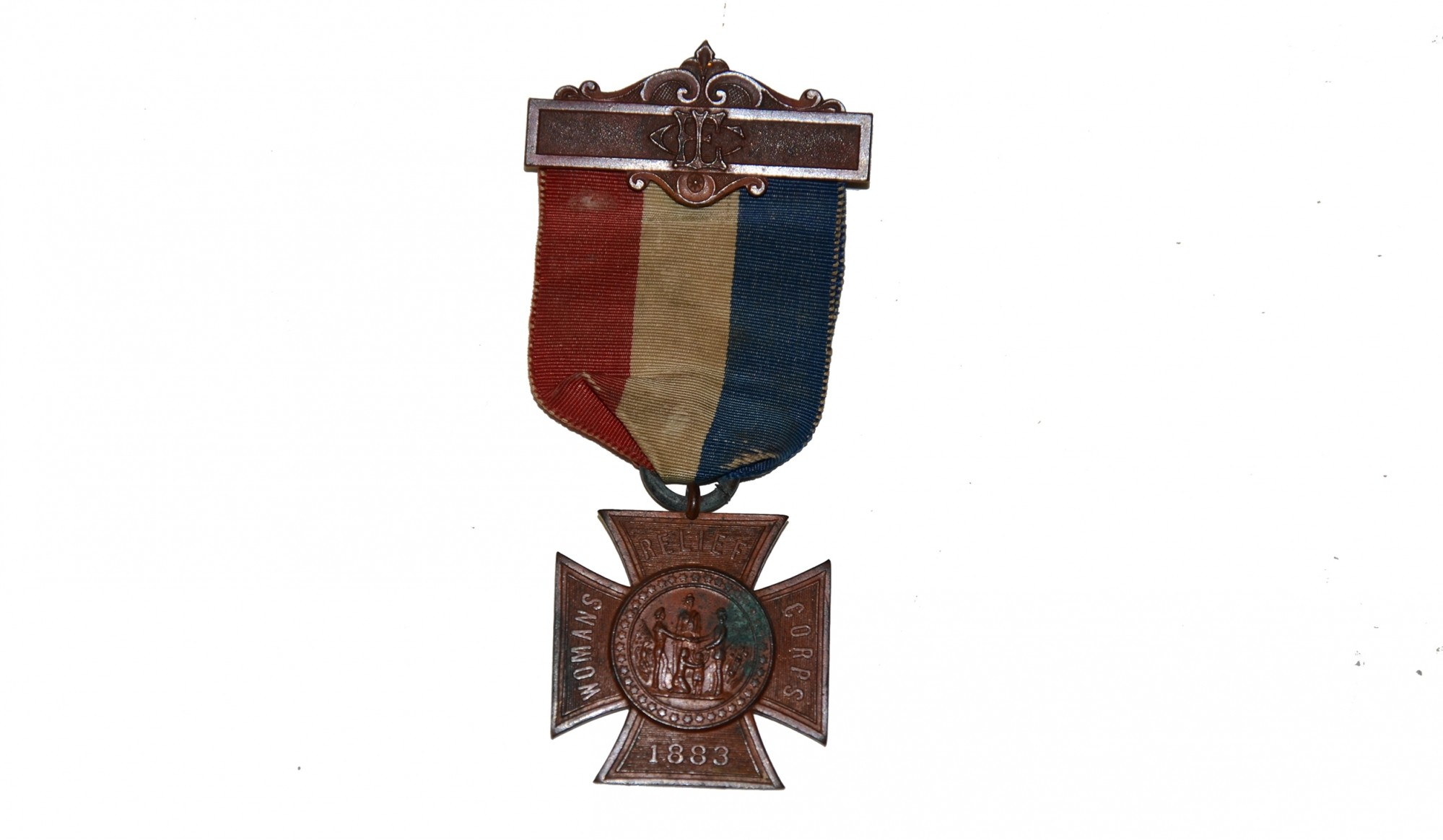 G.A.R. WOMAN'S RELIEF CORPS MEDAL, 1883