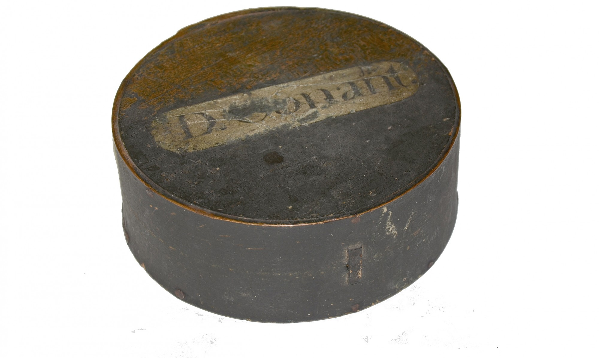 "EARLY 19TH CENTURY MILITIA ""CHEESEBOX"" STYLE CANTEEN"