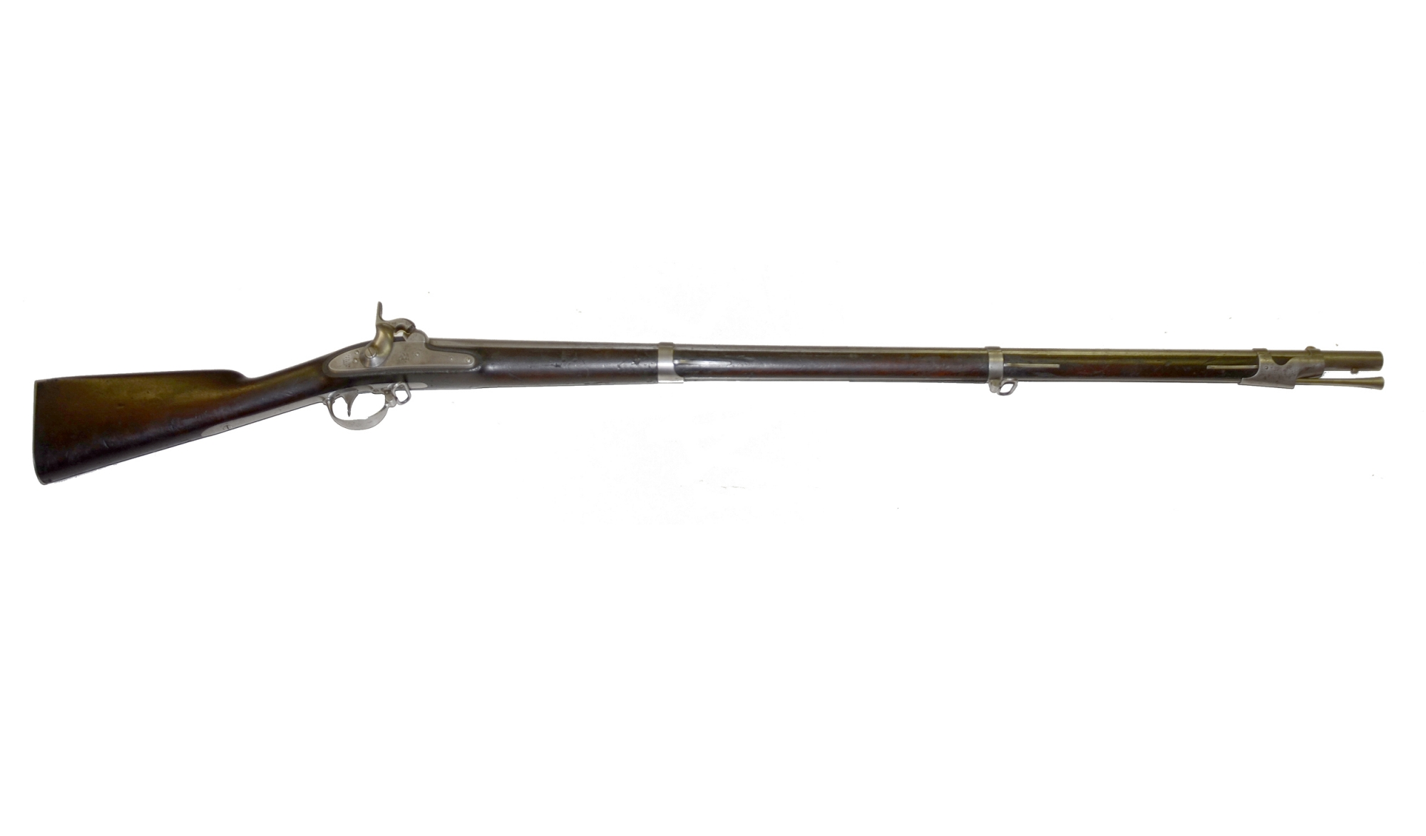SPRINGFIELD M1842 U.S. PERCUSSION RIFLED MUSKET