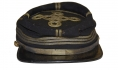 CONFEDERATE OFFICER'S KEPI WITH VIRGINIA SIDE BUTTON