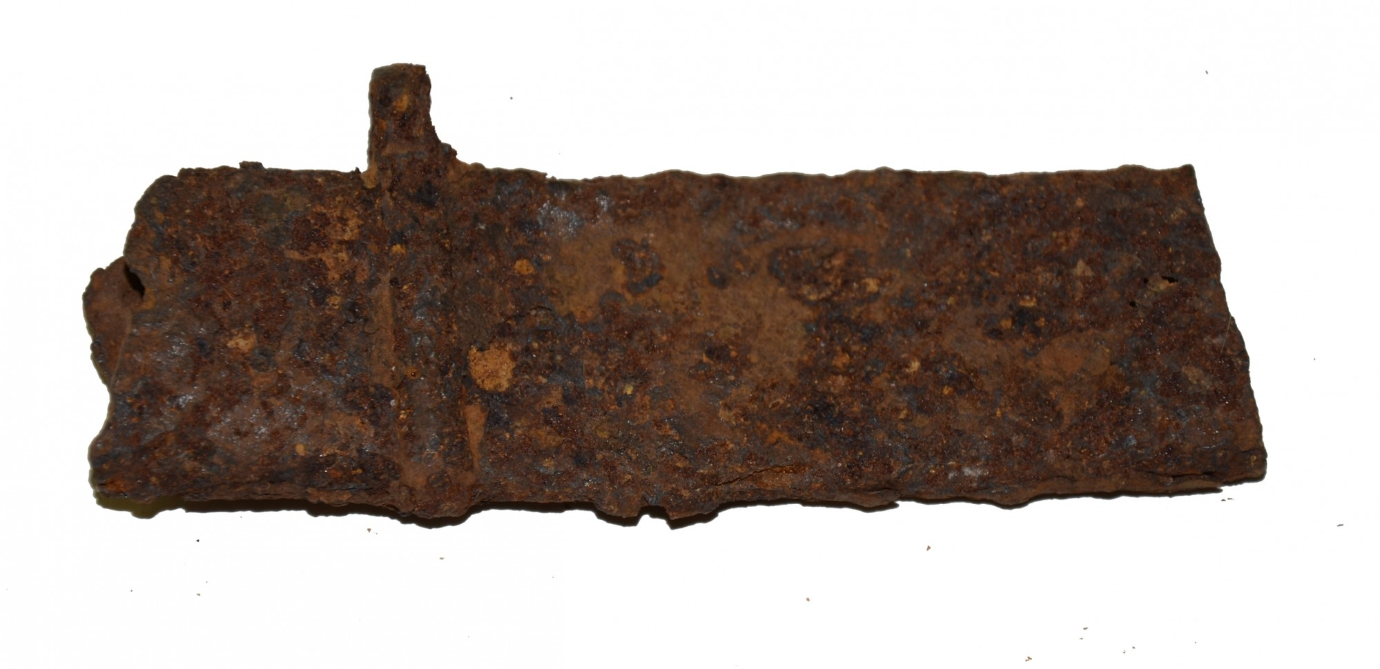 RELIC SCABBARD SECTION, RECOVERED FROM CHATTANOOGA, TN