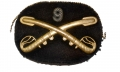 9TH US CAVALRY OFFICER'S HAT INSIGNIA