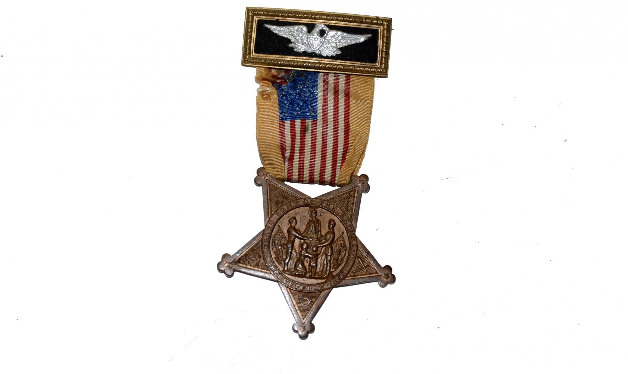 G.A.R. OFFICER'S BADGE