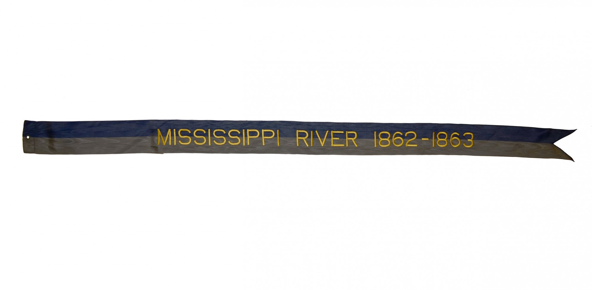 BATTLE STREAMER- MISSISSIPPI RIVER 1862-1863