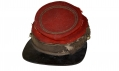 CIVIL WAR NEW YORK ZOUAVE CHASSEUR KEPI BY FROTHINGHAM OF ALBANY, NEW YORK