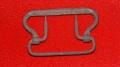 US/CS IRON SUSPENDER BUCKLE RECOVERED NEAR WILLOUGHBY RUN – GETTYSBURG