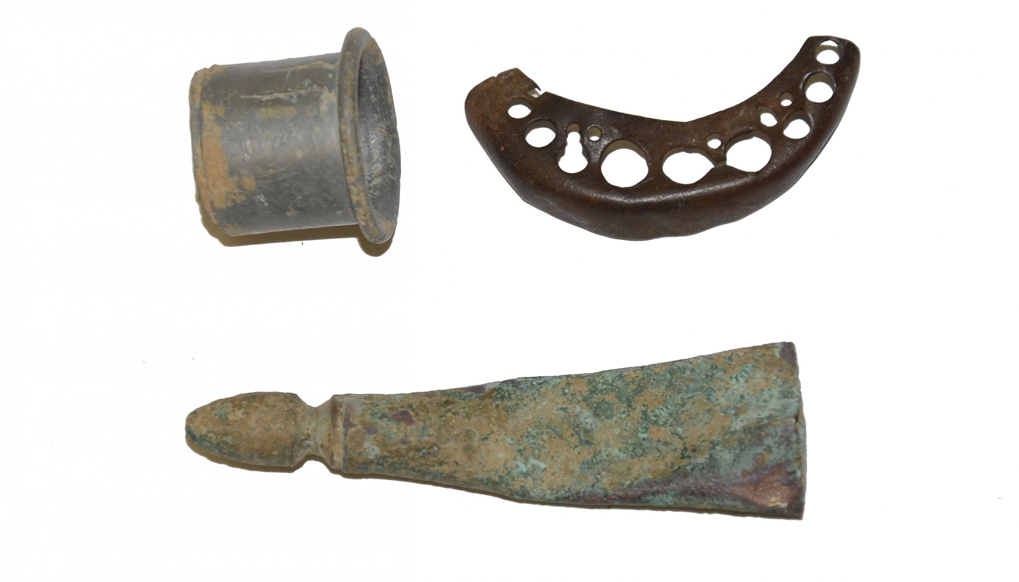 LOT OF RELICS RECOVERED FROM ANTIETAM
