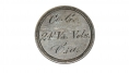 1853 SEATED LIBERTY QUARTER WITH CONFEDERATE INSCRIPTION