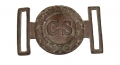 CONFEDERATE TWO-PIECE BUCKLE, RECOVERED FROM FREDERICKSBURG, VA