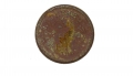 DUG 1863 TOKEN FOR TROY N.Y. MILLER - WITH PROTECTIVE LENS