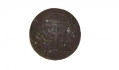 GEORGIA STATE BUTTON, RECOVERED FROM ROSE FARM FIELD, GETTYSBURG