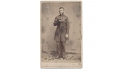 FULL STANDING CDV OF 54TH PENNSYLVANIA OFFICER