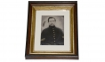 FULL PLATE TINTYPE OF 7TH VERMONT SOLDIER WHO DIED DURING THE WAR