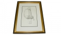 FRAMED C. J. PUGLIESE SWORD ENGRAVING
