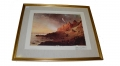 "FRAMED PRINT, ""EVENING SUN, FORT SUMTER"""