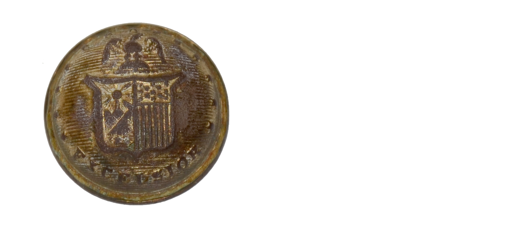NEW YORK EXCELSIOR STATE JACKET BUTTON FROM GETTYSBURG