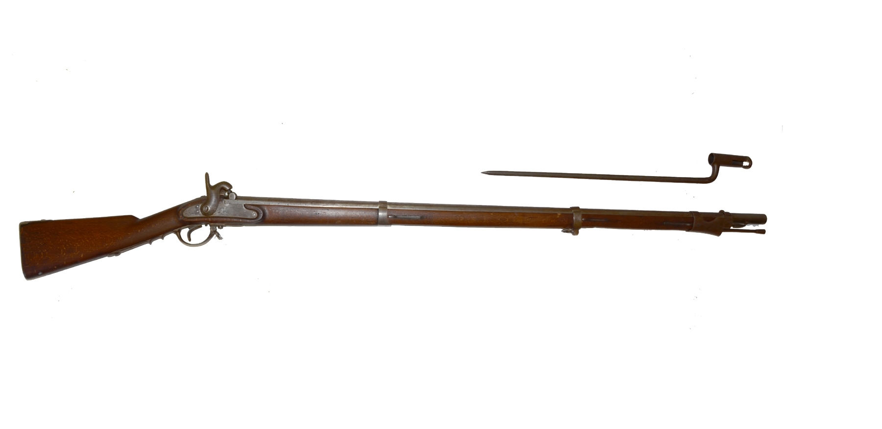 AUSTRIAN MODEL 1842 PERCUSSION RIFLED MUSKET AUSTRIAN MODEL 1842 PERCUSSION RIFLED MUSKET